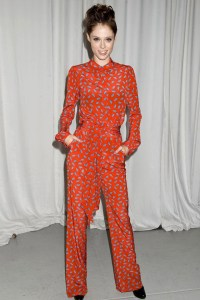 Coco Rocha at Zac Posen, photo Rex Features