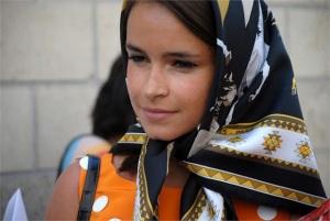 Mira Duma headscarf