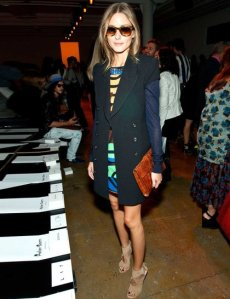 Olivia Palermo at Peter Lim, Photo by Rex Features