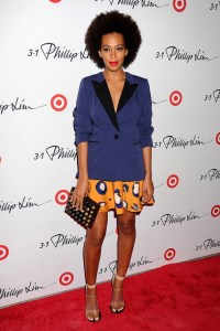 Solange Knowles at Philip Lim, Photo by Rex Features
