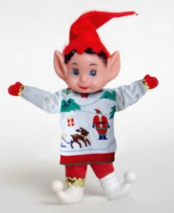 Elf in Sweater