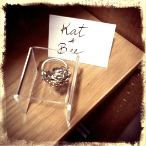 Kat and Bee Ring