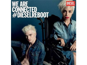 Jillian Mercado in the Diesel Campaign