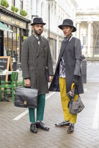 Martell Campbell and Donya Campbell  (Street Style by Dvora)
