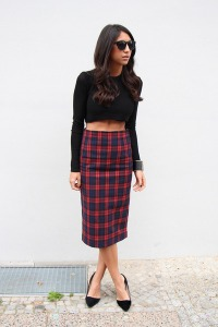pencil skirt tarten