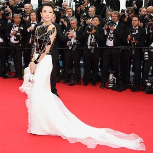 Zhang Ziyi wearing Stephane Rolland