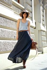 City Style Maxi Skirt