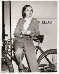 Lauern Bacall bike