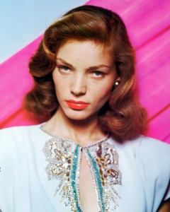 Lauren Bacall shimmer