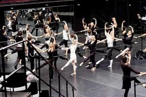 Black Swan Ballet Class