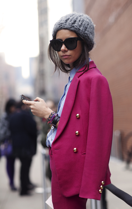 Cool Girl in Pink