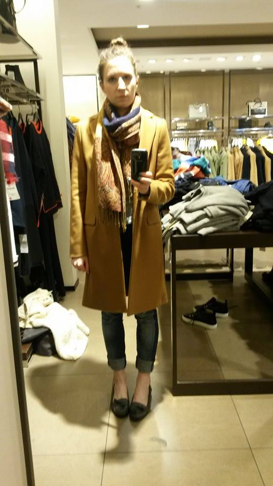 Town Mouse Camel Coat