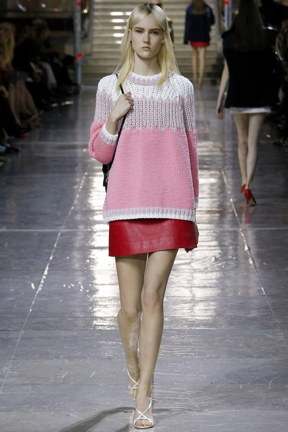 Miu Miu knit and mini