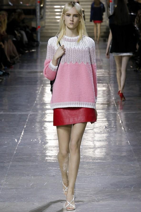 Miu Miu knit and mini
