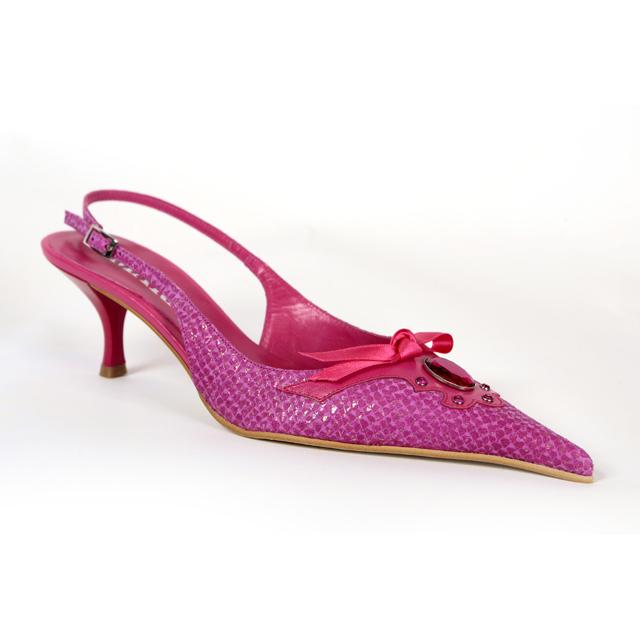 Ugly Pink Kitten Heel