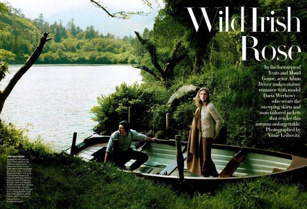 Wild Irish Rose - vogue