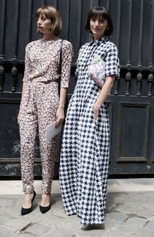 2 Patterned Jumpsuits
