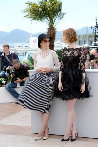 Parker Posey and Emma Stone