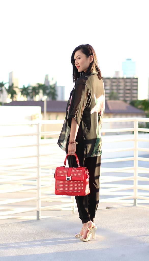 kimono style top