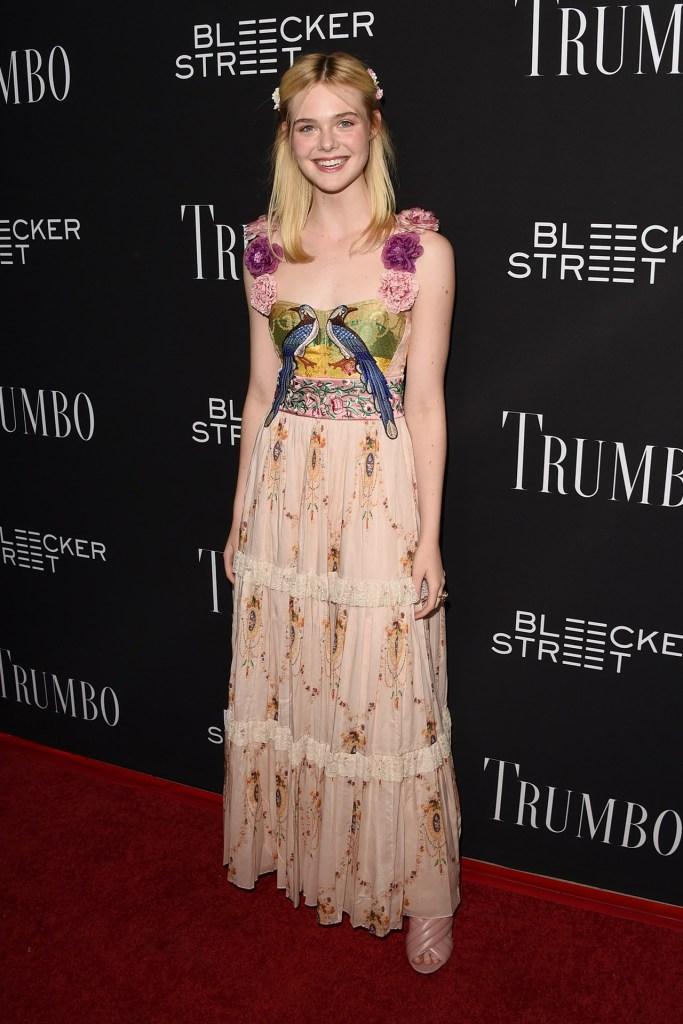Elle Trumbo Gucci