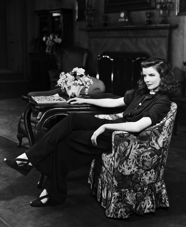 Actress Katharine Hepburn