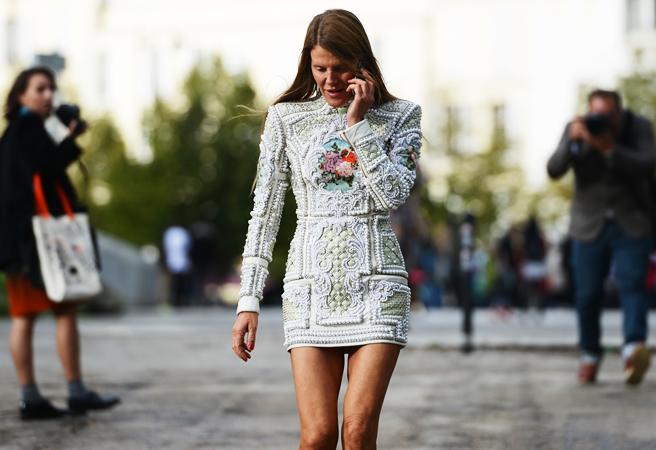 anna della russo short skirt
