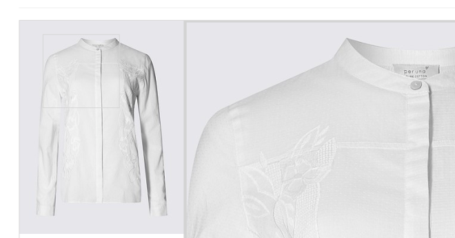 M&S white shirt