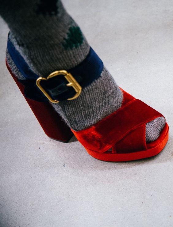 heels-socks