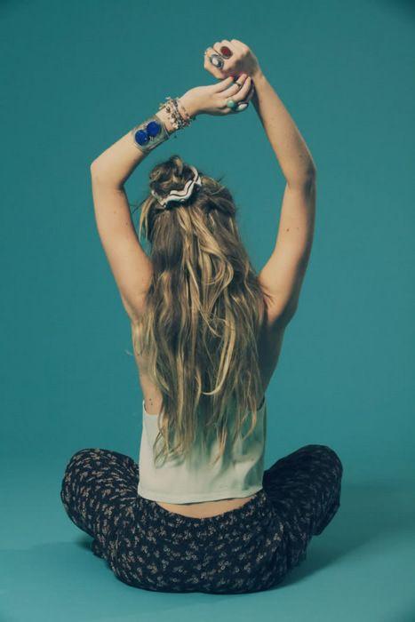 Yoga Scrunchy