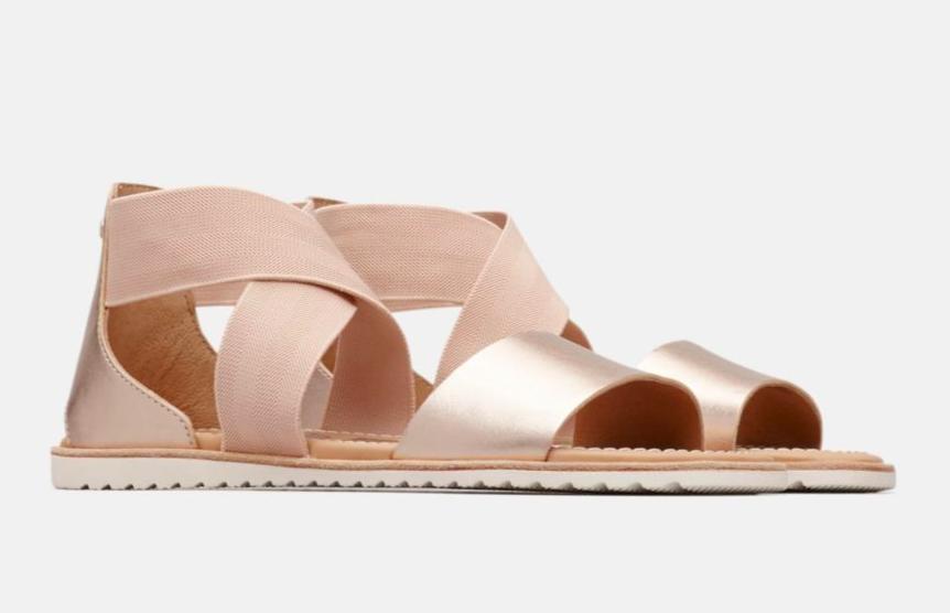 dupe for Saint Laurent flat sandals
